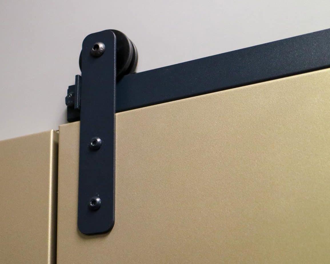 Goldberg Brothers Shutter Series cabinet barn door hardware